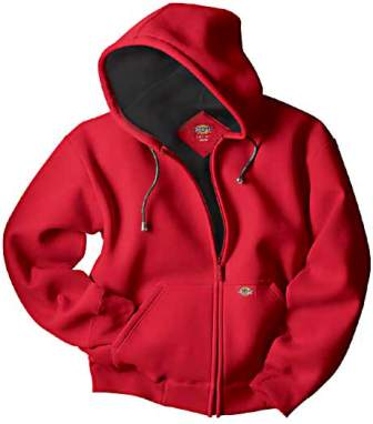 Dickies Bonded Pique Hooded Fleece Jacket #TW315